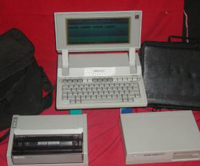 Hewlett Packard HP-110 Portable Computer