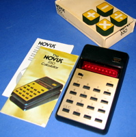 Novus 850 Personal Calculator