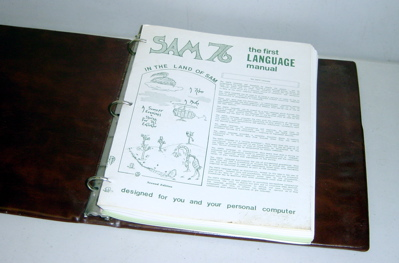 Sam 76 computer language