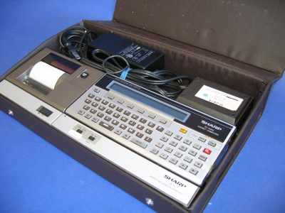 Sharp 1500A Pocket Computer (sys 2)