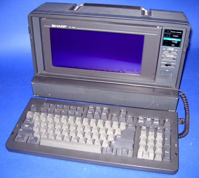 Sharp PC-7200 luggable
