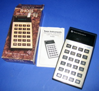 TI-1025 Calculator