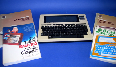Tandy Model T100 Notebook
